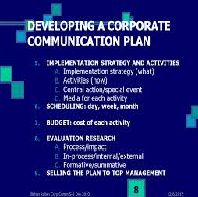 Implementation and Communication Plan Case Study
