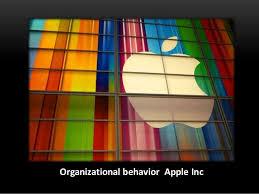 Organizational behavior at Apple