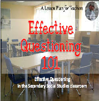 Questioning Strategies in the Social Studies Classroom