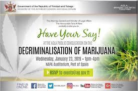The Decriminalization of Marijuana in Trinidad and Tobago