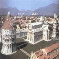 The Romanesque cathedral complex in Pisa Art History