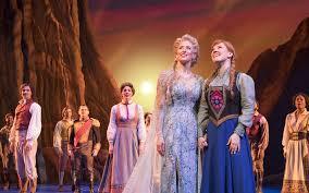 Broadway musical response