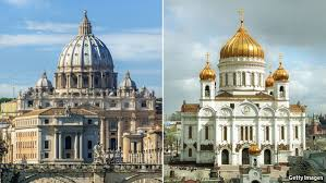 Eastern Orthodox and Roman Catholic Churches