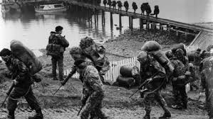 Relationship between Britain and US in the Falkland war